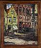 JAMAR, Armand – Stadszicht in Brugge - Huis De Olifant - 1929, Armand Jamar, €120