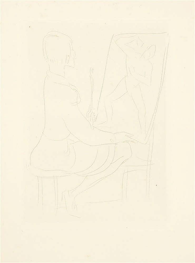 BORIS, Laslo (1897-1924) – Seul ... vingt gravures à la pointe sèche, par L. Boris, préface et épigraphes de Maurice Magre