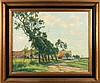 CLESSE, Louis (1889 - 1961) – Scheve bomen bij hoeve - 1947, Louis Clesse, €300