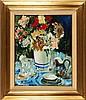FRISON, Jehan (1882 - 1961) – Stilleven met bloemen, Jehan Frison, €300