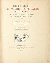 VAN HEURCK, Émile; BOEKENOOGEN, G.J. – Histoire de l'imagerie populaire flamande et de ses rapports avec les imageries étrangères