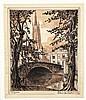 GOETHALS, Albert – Bruges 40 lithos, Albert (1885) Goethals, Click for value