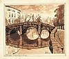 GOETHALS, Albert – 40 litho's van Brugge, Albert (1885) Goethals, Click for value