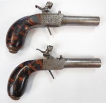 A MATCHED PAIR OF PERCUSSION PISTOLS