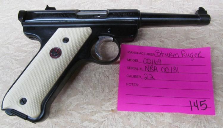ruger single six 22 pistol serial number lookup