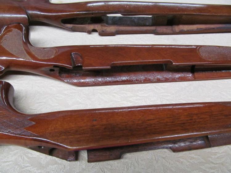 174) LOT OF 3 WOOD GUN STOCKS ~ REMINGTON 2 REMINGTON 31