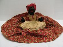 (41) Black Americana Mammy Bed Doll