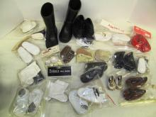 (2) Large lot of Doll Shoes ~ Various Styles, Sizes & Colors