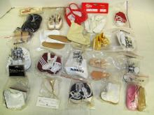 (3) Large lot of Doll Shoes ~ Various Styles, Sizes & Colors