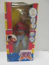 (134) Urkel Talking Doll In Original Box 1991