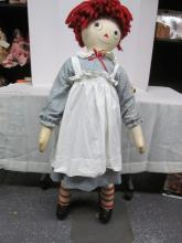 (525) Raggedy Ann Mannequin ~ Child Fair Store Display