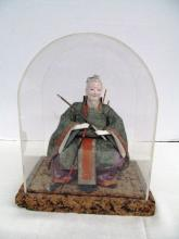 (957) Oriental Sitting Figural Man w/Sword