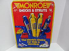 (7) Metal Garage Sign MONROE Shocks & Struts