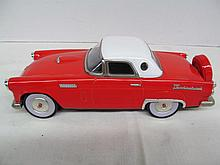 (38) 50's Retro Red Die Cast Thunderbird Car Replica