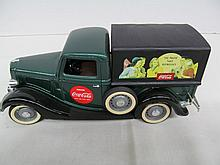 (31) Die Cast 1936 Ford V8 Pickup Truck w/Coca-Cola Advertising