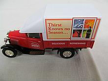 (42) Die Cast 1932 Ford AA Coca-Cola Delivery Truck