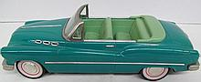 (48) Die Cast Teal Convertible