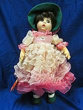 (326) Vintage Lenci Felt Doll ~ 20