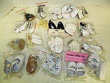 (11) Large lot of Doll Shoes ~ Various Styles, Sizes & Colors