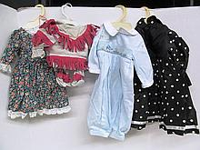 (36) Lot of 4 Doll Outfits