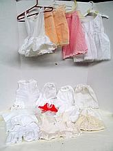 (38) Large Lot of Doll Slips ~ Bloomers ~ Undergarments