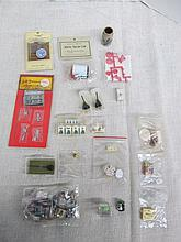 (613) Dollhouse Miniatures 1:12 Scale ~ Large Lot of Accessories ~ Tools ~ Groceries ~ Food ~ Candy ~ Plastic Crystal ~ Canisters ~ First Aid ~ Vanity ~ Etc.