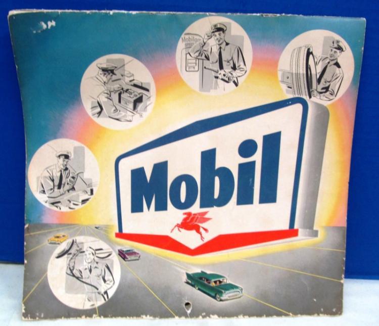 1958 MOBIL GAS CALENDAR