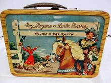 VINTAGE ROY ROGERS & DALE EVANS METAL LUNCH BOX w/THERMOS