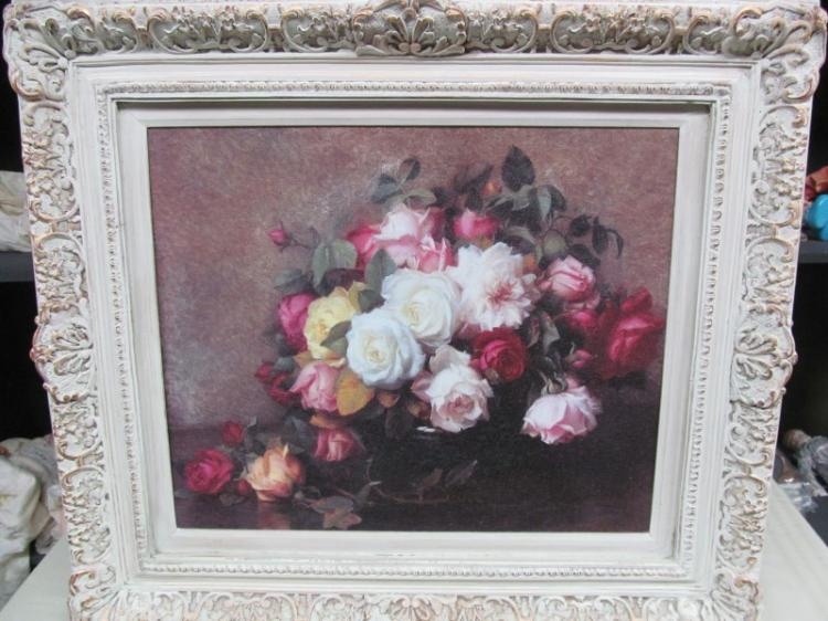 FRAMED ART ~ COLORFUL ROSES ~ 31