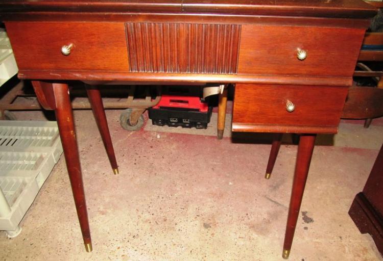 modern sewing machine cabinet