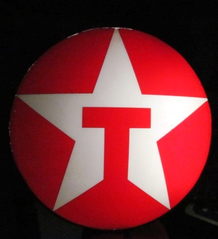 VINTAGE TEXACO STAR ROUND 35