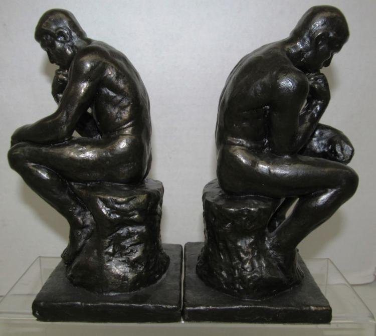 THINKING MAN BOOKENDS (A) BOOKENDS