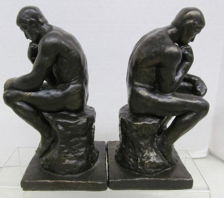 THINKING MAN BOOKENDS (B) BOOKENDS