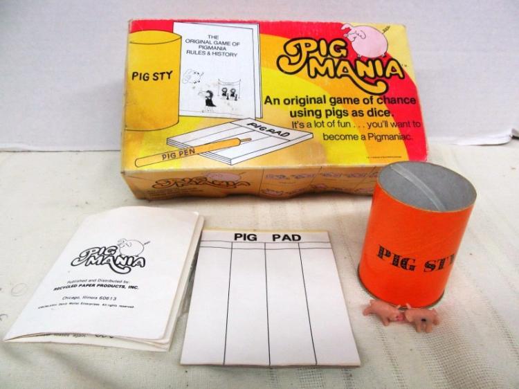 VINTAGE PIG MANIA GAME
