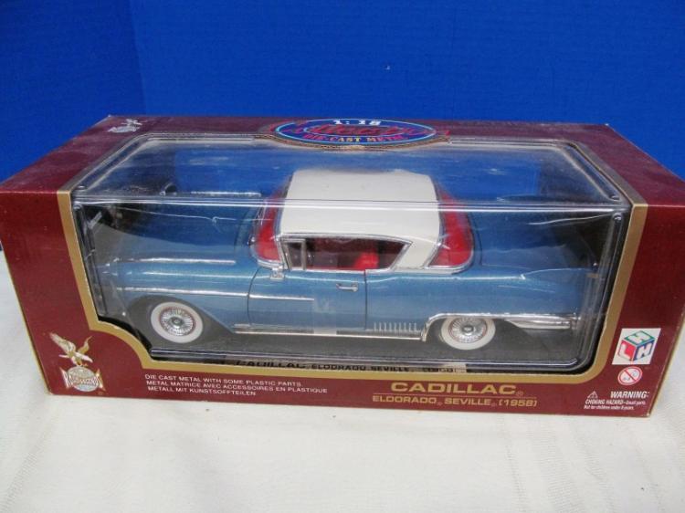 DIE CAST 1958 CADILLAC ELDORADO SEVILLE ~ IN BOX