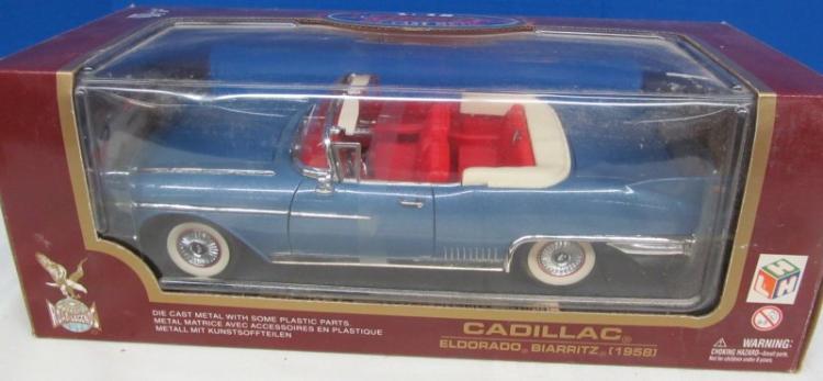 DIE CAST 1958 CADILLAC ELDORADO BIARRITZ ~ IN BOX