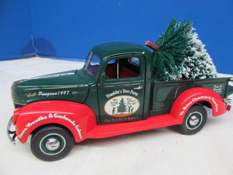 FRANKLIN MINT 1997 CHRISTMAS TRUCK