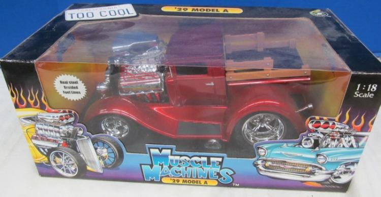 DIE CAST 1929 MODEL A MUSCLE MACHINE