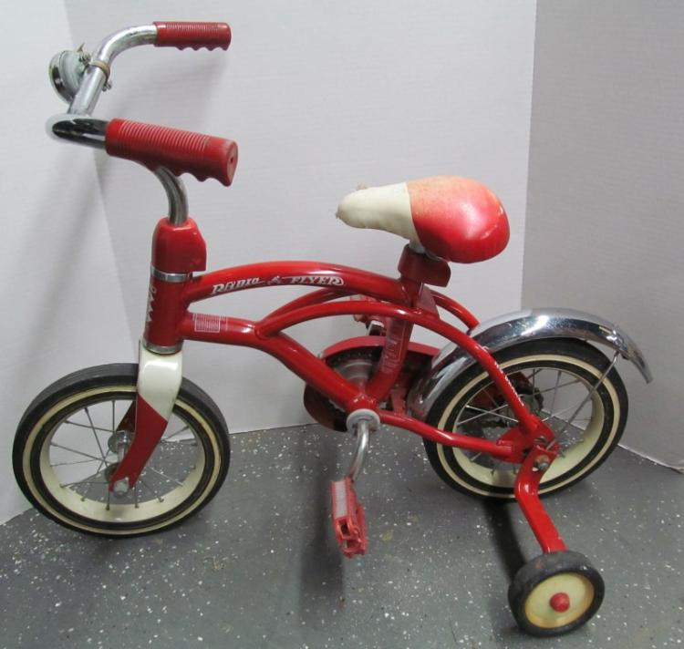 Antique Airplane Tricycle : Red radio flyer tricycle retro