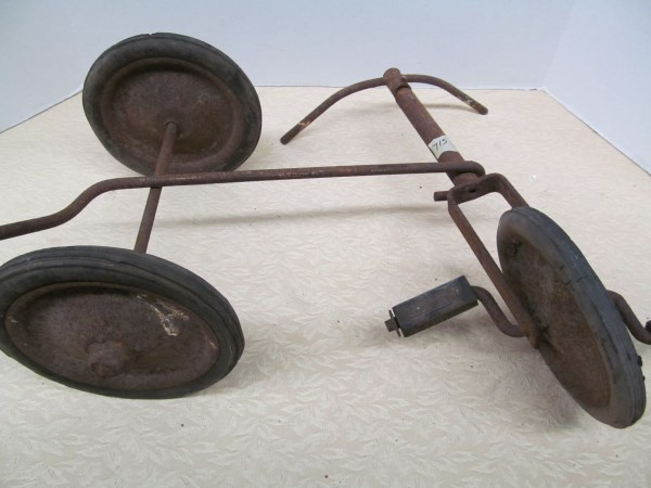 Tricycle Restoration Parts : Vintage tricycle parts for restoration