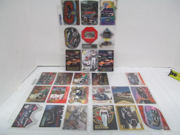 LOT OF 26 SPECIAL #3 DALE EARNHARDT NASCAR CARDS