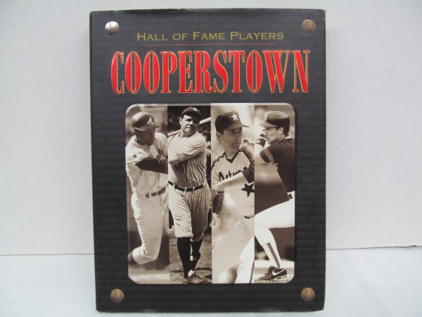 HALL OF FAME PLAYERS COOPERSTOWN HARDBACK BOOK