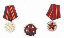 THREE SOVIET-ERA RUSSIAN MEDALS