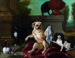 OUDRY Jean-Baptiste - « Le Sérail du Doguin»