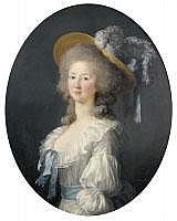 VIGÉE-LEBRUN Elisabeth - « Portrait de la