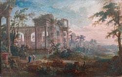 PATEL Pierre Antoine le Jeune - « Paysages de