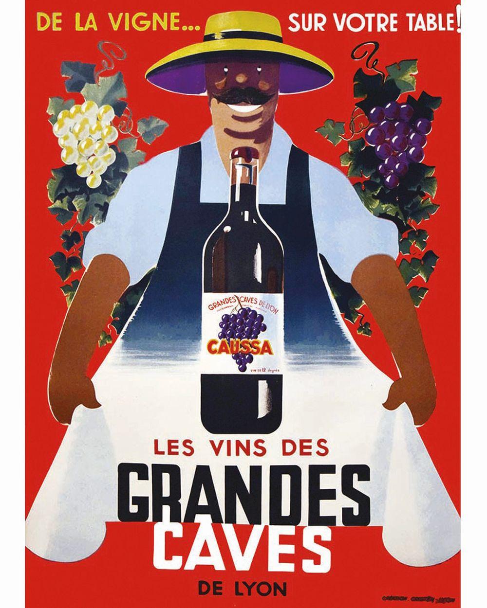 Grandes Caves de Lyon Les Vins     vesr 1930  Lyon (Rhône)