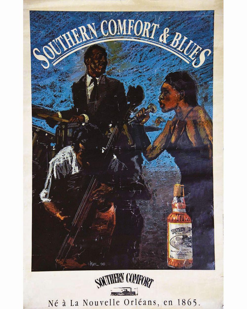 MARC - Wisky Southern Cofort & Blues Nouvelle Orléans     vers 1980