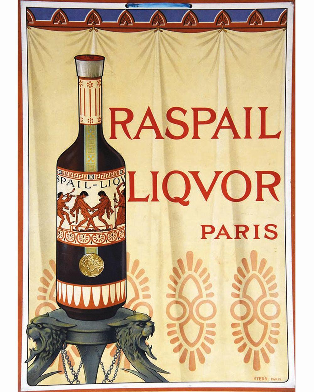 Raspail Liquor     vers 1920  Paris