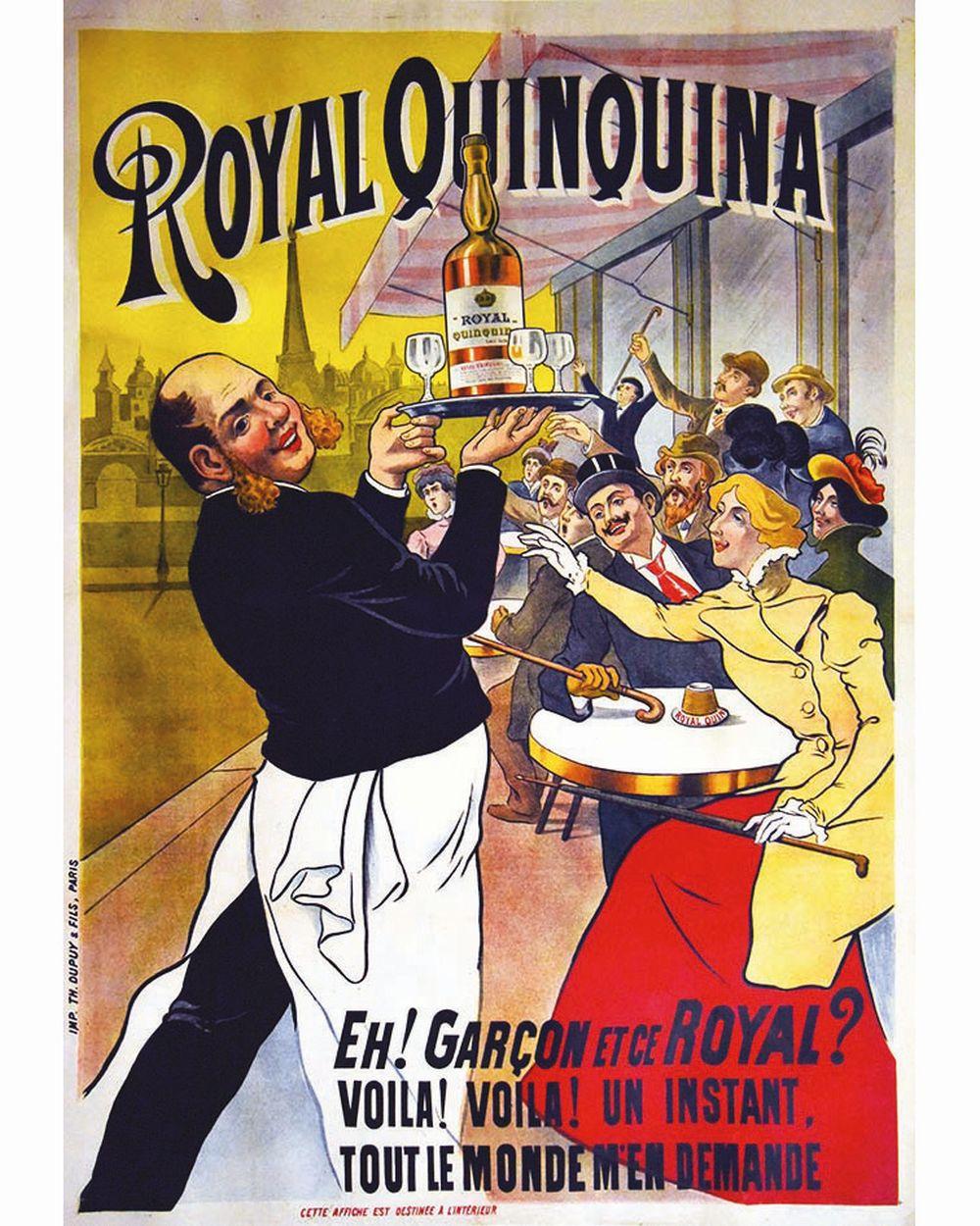 Royal Quinquina Eh !Garçon et ce Royal     vers 1890